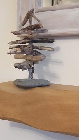 Small Driftwood Tree