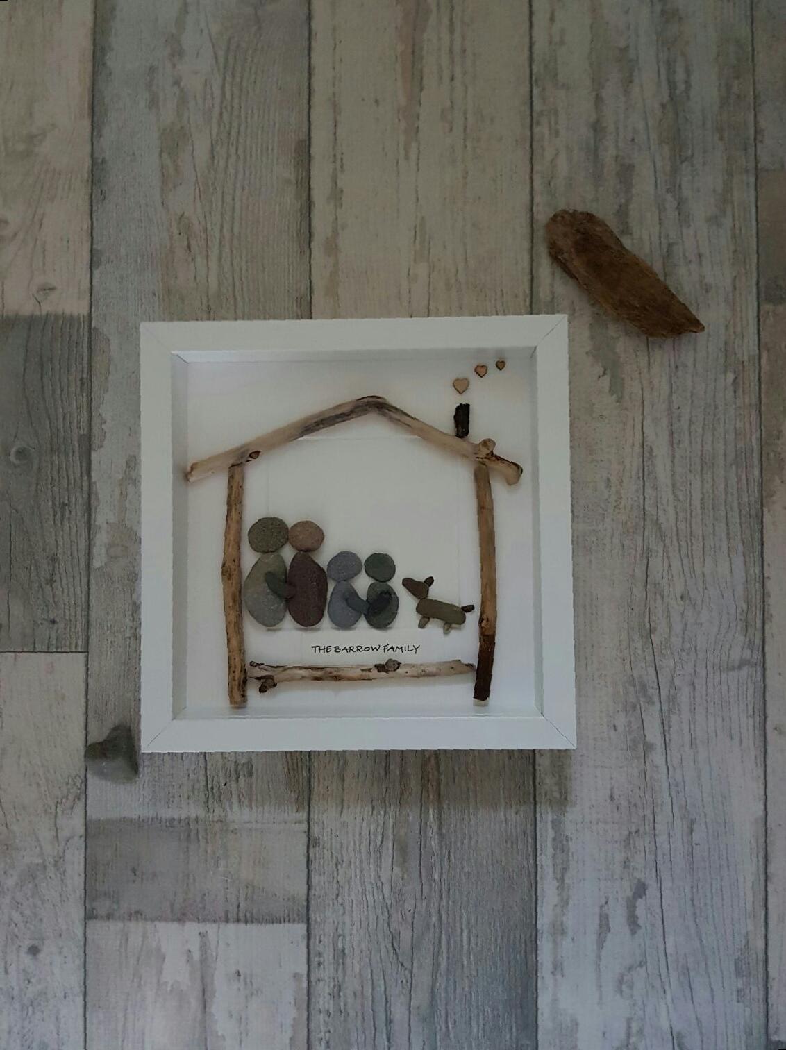 Pebble Art Pet Portraits Love Nature